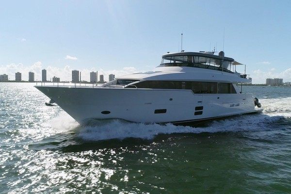 Picture Of: 97' Hatteras M90 2018 Yacht For Sale | 3 of 110