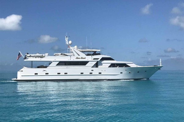 105' Broward Custom Extended 1990 | Mon Sheri - (1/3 Share)