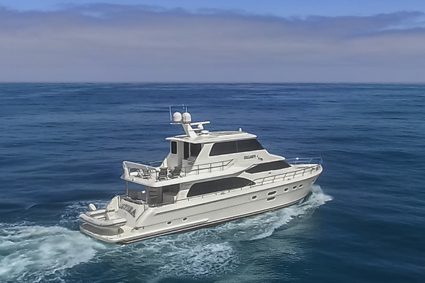 Picture Of: 76' Hampton 76' Skylounge Motoryacht 2014 Yacht For Sale | 1 of 55