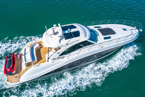 Picture Of: 60' Sea Ray 55 Sundancer 2008 Yacht For Sale   4 of 57