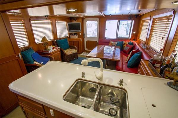 1999 Nordhavn 57' 57 Trawler Daddy's Money | Picture 4 of 83