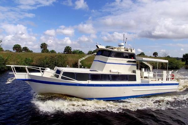 Custom 55' Neuville 46 Dive-crew Boat 1989