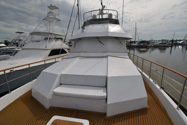 1988 Hatteras 67' 67  Cockpit Motor Yacht Lady Paragon | Picture 4 of 78