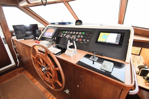 Picture Of: 67' Hatteras 67  Cockpit Motor Yacht 1988 Yacht For Sale | 3 of 78