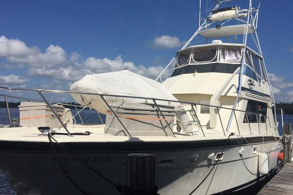 55' Hatteras 55 Convertible 1988 | On Course