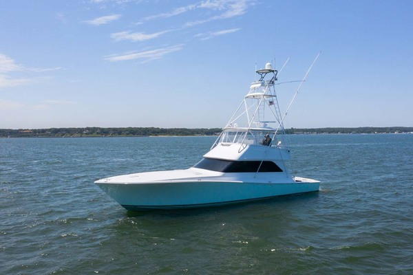 55' Viking 55 Convertible 2001 | Alexa Ann
