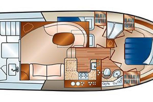 2004Silverton 38 ft 38 Convertible   Oasis