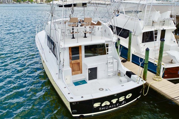 1982 Hatteras 50' 50 Convertible FATSO | Picture 6 of 33