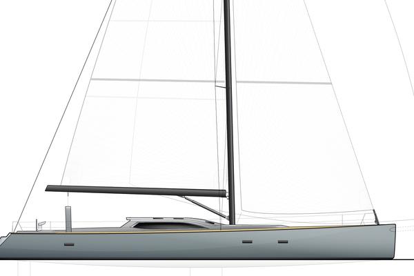 1996 Goetz / Derecktor 77' Custom Sparkman & Stephens Designed Performance Sailing Yacht AANDEEL   Picture 7 of 24