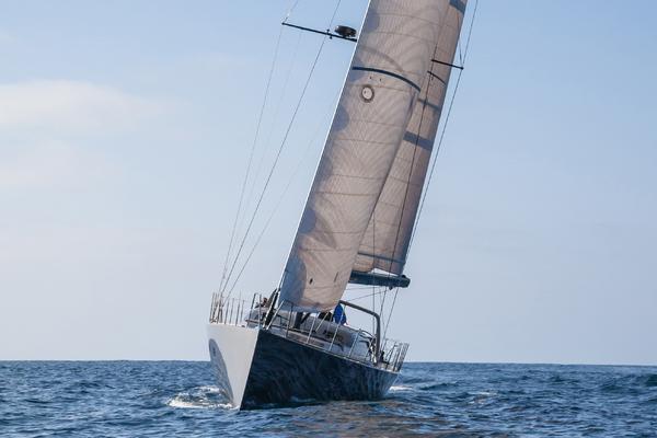 1996 Goetz / Derecktor 77' Custom Sparkman & Stephens Designed Performance Sailing Yacht AANDEEL   Picture 5 of 24