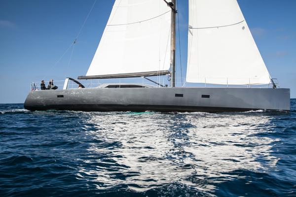 1996 Goetz / Derecktor 77' Custom Sparkman & Stephens Designed Performance Sailing Yacht AANDEEL   Picture 3 of 24