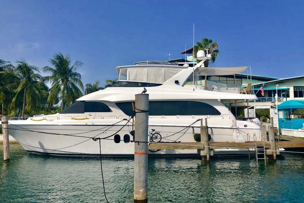 2008Hatteras 72 ft 72 Motor Yacht   Christina