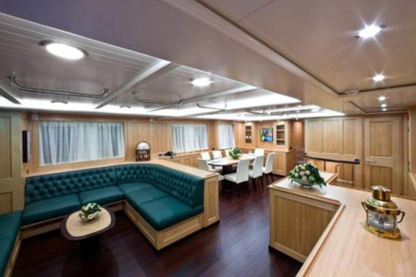Picture Of: 78' Cantiere Navale di Pesaro Naumachos 82 2009 Yacht For Sale | 3 of 24