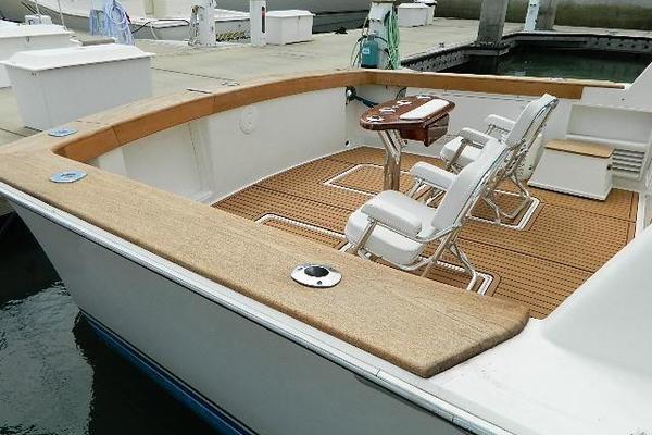 1997 Ocean Yachts 48 Super Sport  Galley