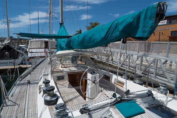 Picture Of: 55' Tayana 55 Center Cockpit 1985 Yacht For Sale | 3 of 67