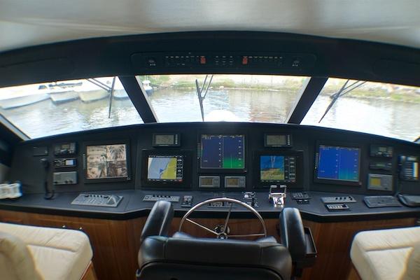 2005 Viking 74' 74 Enclosed Bridge 6C | Picture 2 of 47