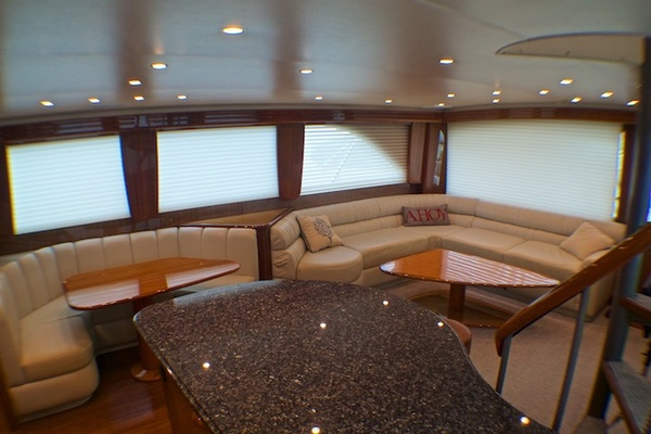 Picture Of: 74' Viking 74 Enclosed Bridge 2005 Yacht For Sale | 4 of 47
