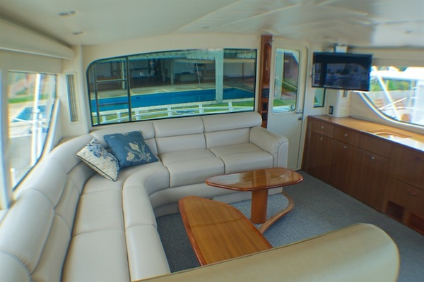 2005 Viking 74' 74 Enclosed Bridge 6C | Picture 1 of 47