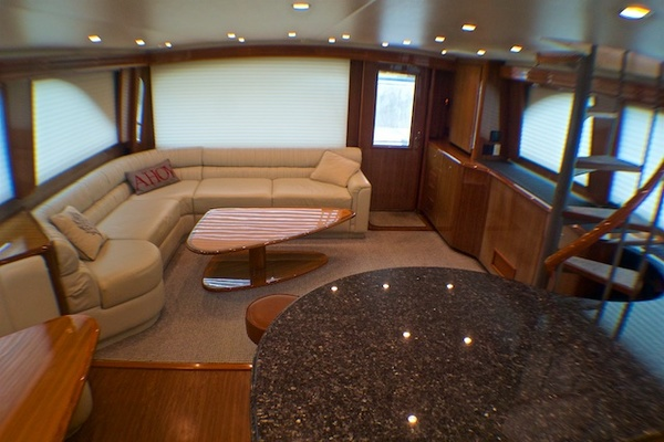 Picture Of: 74' Viking 74 Enclosed Bridge 2005 Yacht For Sale | 3 of 47