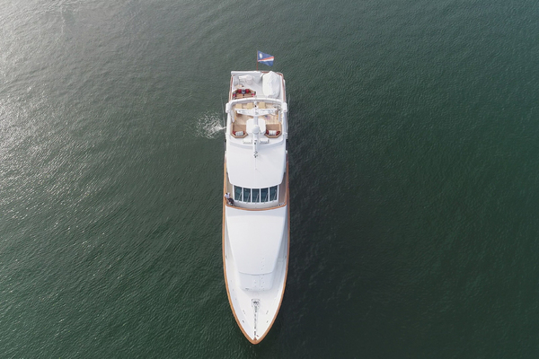 2000 Palmer Johnson 128' Custom Tri-Deck Motoryacht KIMBERLY   Picture 3 of 52