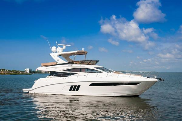 2017 Sea Ray 59' L59 Flybridge It's Plane to Sea | Picture 1 of 64