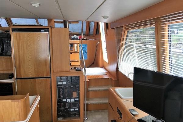 1991 Ocean Alexander 54' Cockpit Pilot House Sheena | Picture 7 of 64