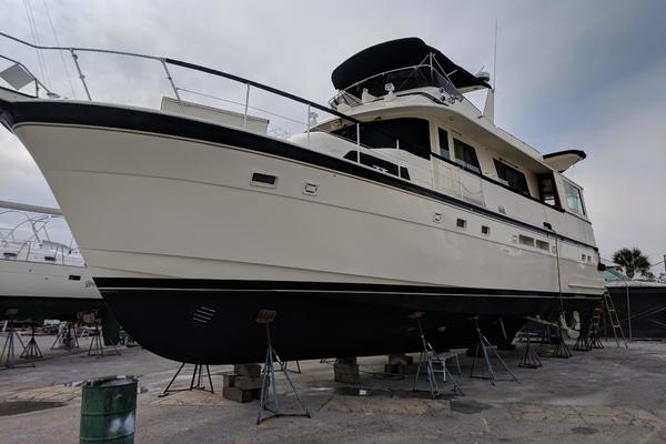 Picture Of: 63' Hatteras 1987 Yacht For Sale | 4 of 31