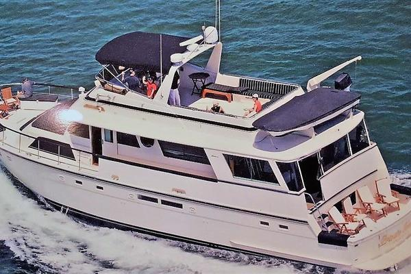 Picture Of: 63' Hatteras 1987 Yacht For Sale | 2 of 31
