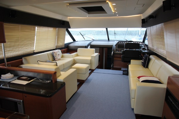 Picture Of: 60' Prestige 60 Flybridge 2012 Yacht For Sale | 3 of 55