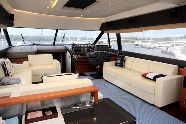Picture Of: 60' Prestige 60 Flybridge 2012 Yacht For Sale | 4 of 55