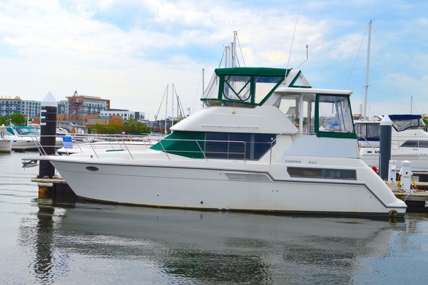 35' Carver 355 Aft Cabin 1995 | Third Time Was A Charm