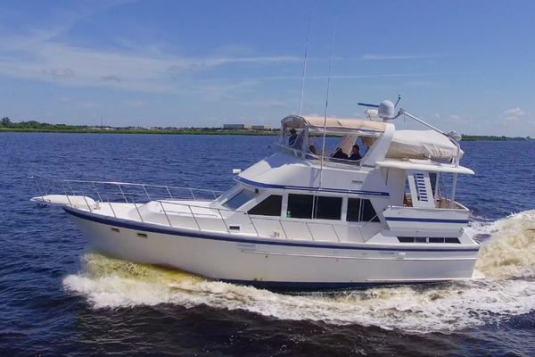 41' Jefferson 42 Sundeck Trawler 1989 | Wastin Time Two