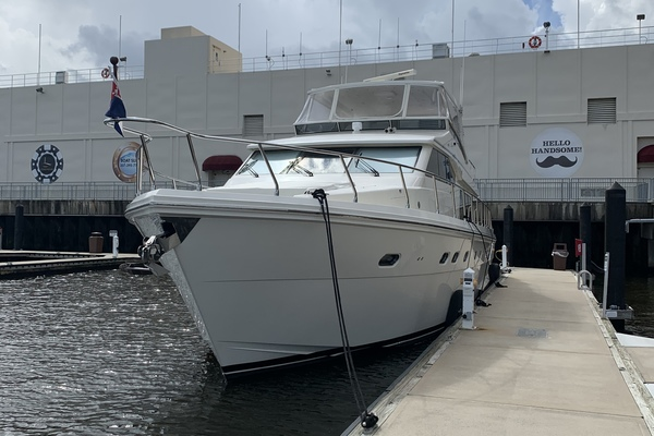 Picture Of: 63' Hampton 630 PH Motoryacht 2008 Yacht For Sale | 4 of 49