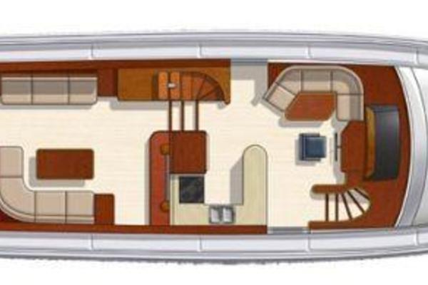 Picture Of: 63' Hampton 630 PH Motoryacht 2008 Yacht For Sale | 3 of 44