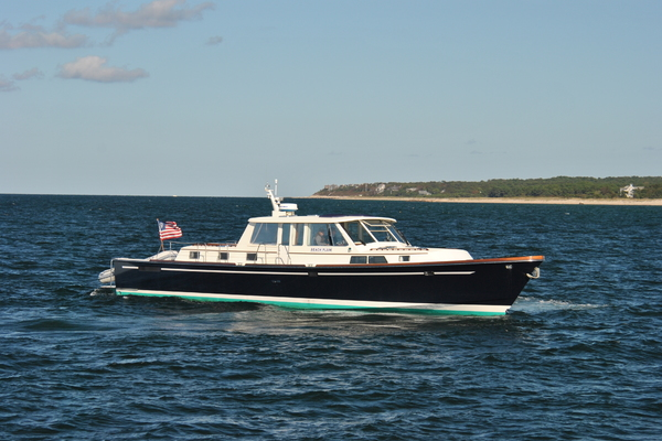 60' Goetz Custom Express 2000 | Beach Plum