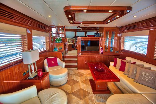 Picture Of: 58' Hampton 580 Pilot House 2009 Yacht For Sale | 3 of 37