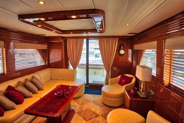 Picture Of: 58' Hampton 580 Pilot House 2009 Yacht For Sale | 4 of 37