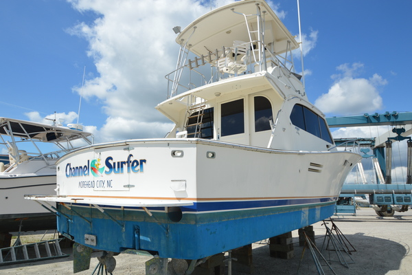 43' Post 43 Convertible 1986 | Channel Surfer