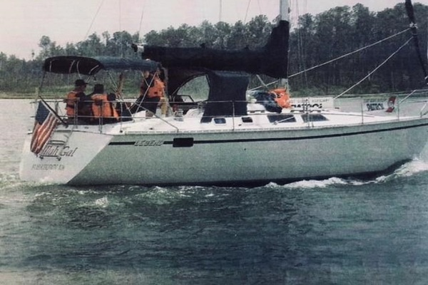 40' Hunter 40 Legend 1989 | Gullah Gal