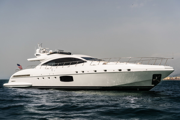94' Mangusta Maxi-open W Flybridge/hardtop 2016 | Wings Spread