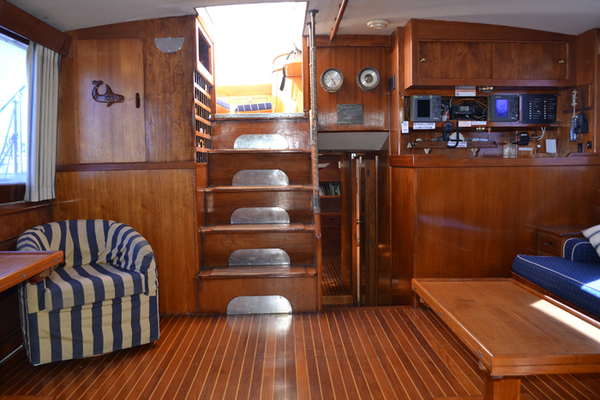 Picture Of: 80' Vic Franck Cruising Sailboat 1961 Yacht For Sale | 2 of 53