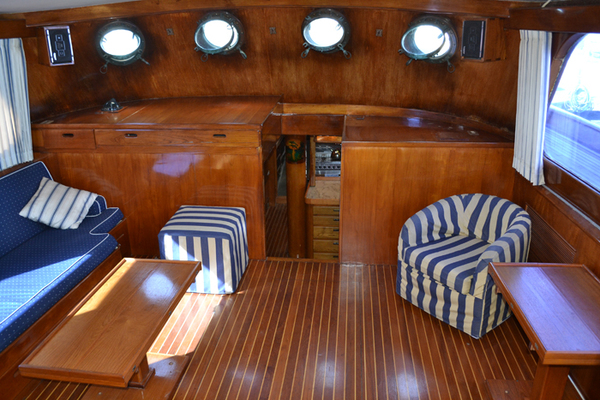 Picture Of: 80' Vic Franck Cruising Sailboat 1961 Yacht For Sale | 4 of 53