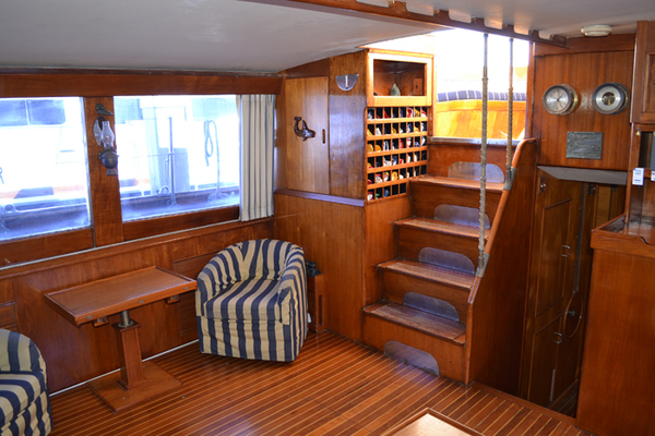 Picture Of: 80' Vic Franck Cruising Sailboat 1961 Yacht For Sale | 3 of 53