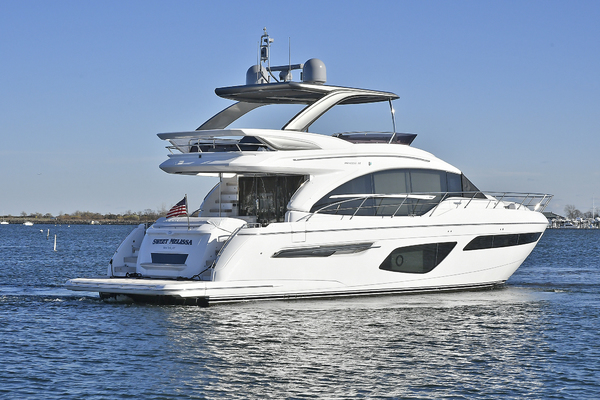 Picture Of: 63' Princess 62 Flybridge 2018 Yacht For Sale | 3 of 61