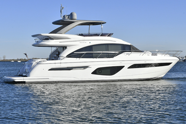 Picture Of: 63' Princess 62 Flybridge 2018 Yacht For Sale | 4 of 61
