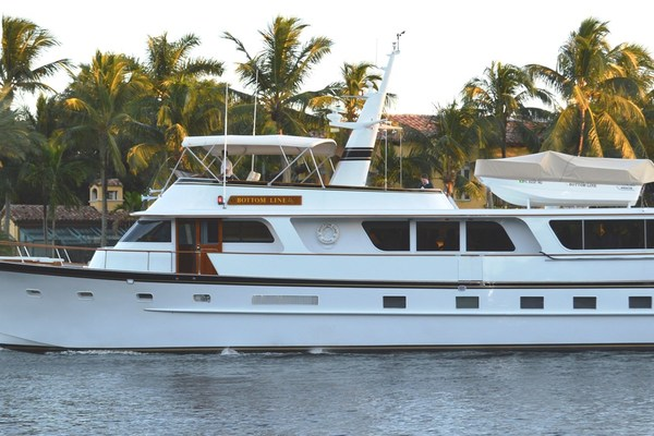 75' Broward Flushdeck 1976 | Bottom Line