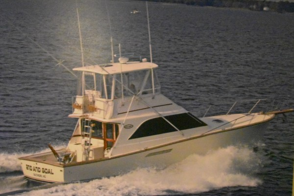 44' Ocean 44 Convertible 1988 | 2nd And Goal