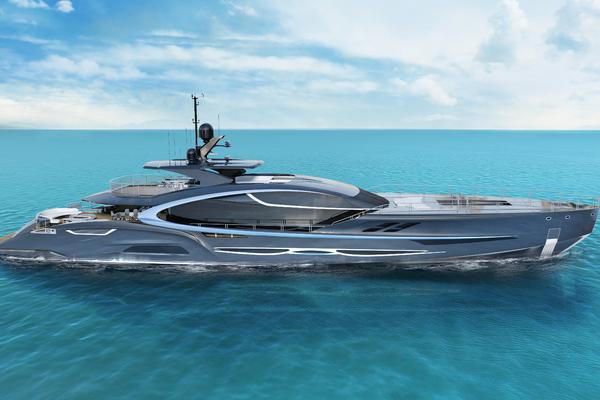 170-ft-Latitude Yachts-2023--ZEON   Latvia  yacht for sale