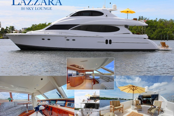 2006 Lazzara 80' 80 Skylounge  | Picture 4 of 54