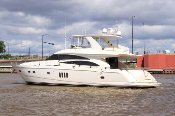 Picture Of: 68' Princess 67 Flybridge 2006 Yacht For Sale | 4 of 51